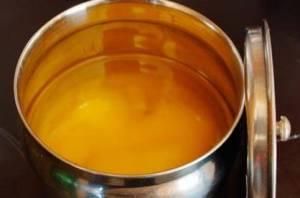 Manteiga clarificada/manteiga de garrafa